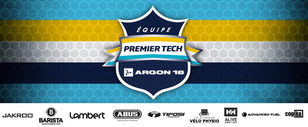 présentation de l'équipe 2018 Premier Tech p/b Argon18
