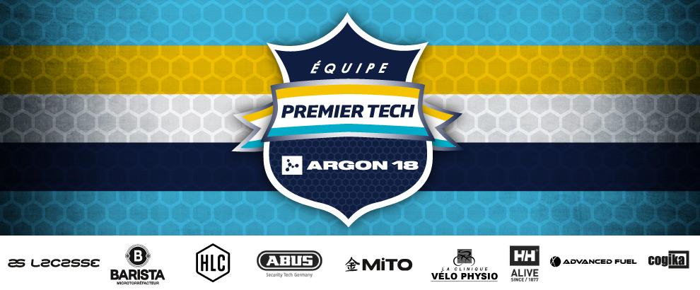 présentation de l'équipe 2019 Premier Tech p/b Argon18