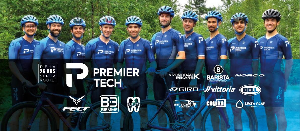 présentation de l'équipe 2021 Premier Tech